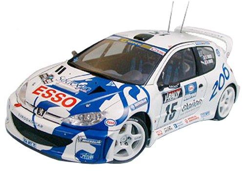 1/24 スポーツカー No.221 1/24 プジョー 206 WRC 24221