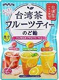 扇雀飴 台湾茶フルーツティーのど飴 80g ×6袋