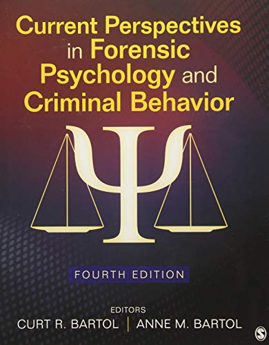 Download Current Perspectives in Forensic Psychology and Criminal Behavior 1483376214