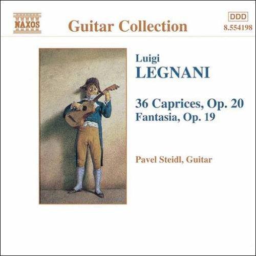 レニャーニ:ファンタジア/36のカプリース ギター作品集