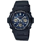[カシオ]CASIO 腕時計 G-SHOCK 世界6局対応電波ソーラー AWG-M100SB-2AJ...