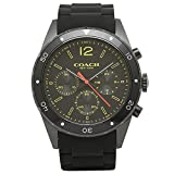 (コーチ) COACH コーチ 時計 メンズ COACH 14602041 SULLIVAN SPORT サリバンスポーツ メンズ腕時計 ウォッチ ブラック/イエロー [並行輸入品]