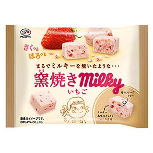 不二家 窯焼きミルキー いちご MP 38g 1箱(10袋)
