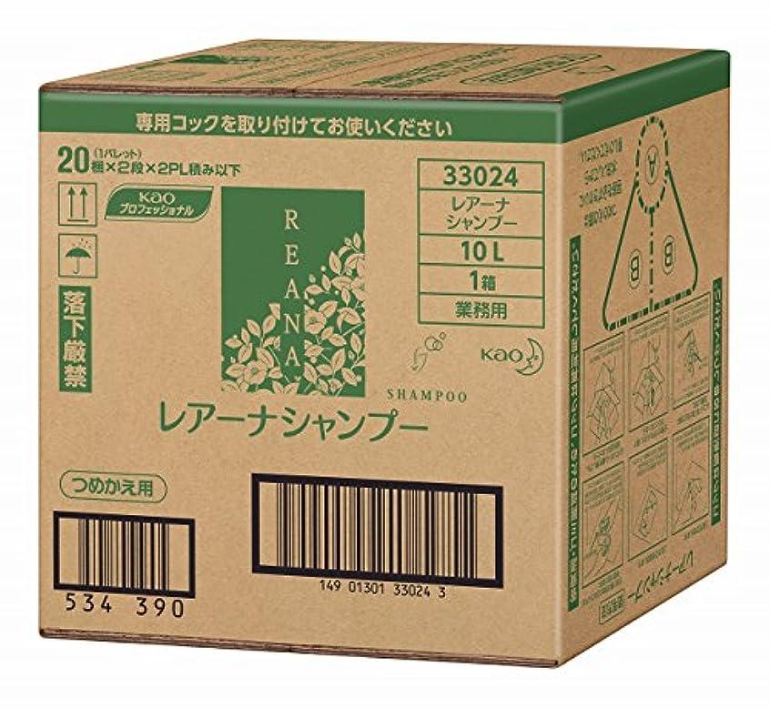 植生軍艦魔法花王 レアーナ シャンプー 10L