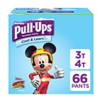 Pull-Ups Cool & Learn Training Pants for Boys, 3T-4T, 66 Count by Pull-Ups
