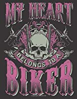 """2020 Motorcycle Calendar and Planner For Bikers: Heart Belongs To A Biker Mom Mothers Day Motorcycles 