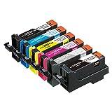 【Amazon.co.jp限定】エコリカ キャノン(Canon)対応 リサイクル インクカートリッジ 6色マルチパック BCI-326+325/6MP EC-C326+325/6A (FFP・封筒パッケージ)