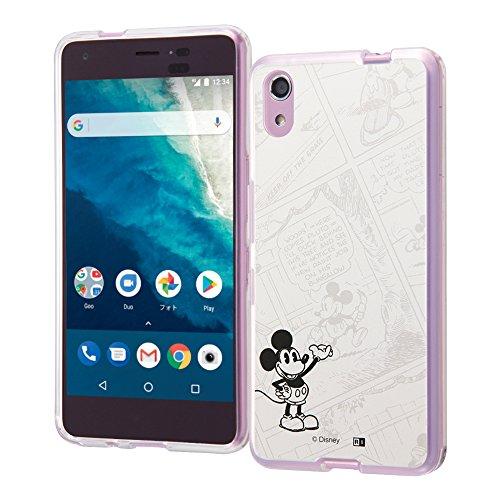 Android One S4 ケース ディズニー キャラクター OTONA 耐衝撃 ハイブリッド ケース / 『ミッキーマウス』_16 IJ-DANS4CC2/MK016