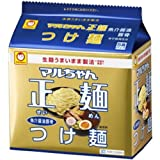 マルちゃん正麺 つけ麺 魚介醤油豚骨 (5食パック) 525g×6袋