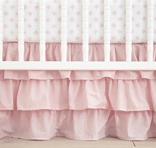 Levtex Home Baby Willow 5 Piece Crib Bedding Set, Pink