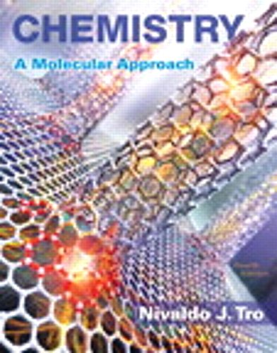 Download Chemistry: A Molecular Approach; Modified Mastering Chemistry with Pearson eText -- ValuePack Access Card -- for Chemistry: A Molecular Approach (4th Edition) 0134465660