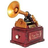 オルゴール 蓄音機