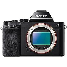 Sony Full Frame A7 Series Interchangeable Lens Camera, Black