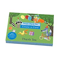 Mudpuppy Forest Thank You Create-a-card [並行輸入品]