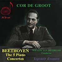 Beethoven: The Five Piano Concertos (Complete Piano Concertos) by Cor De Groot (2008-04-08)