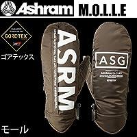 アシュラム アシュラム スノーボード ミトングローブ ゴアテックス  MOLLE モール オリーブ Ashram glove 17-18  2018 メンズ スノーボード グローブ【C1】