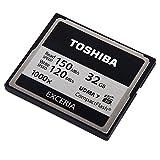 ◇【32GB】東芝/TOSHIBA EXCERIA 1000倍速コンパクトフラッシュ UDMA7対応 R:150MB/s /W:120MB/s 海外パッケージ CF-032GTR8A ◆メ 画像