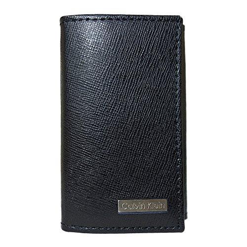 カルバンクライン キーケース CALVIN KLEIN CK ブラック CARD CASE WITH...