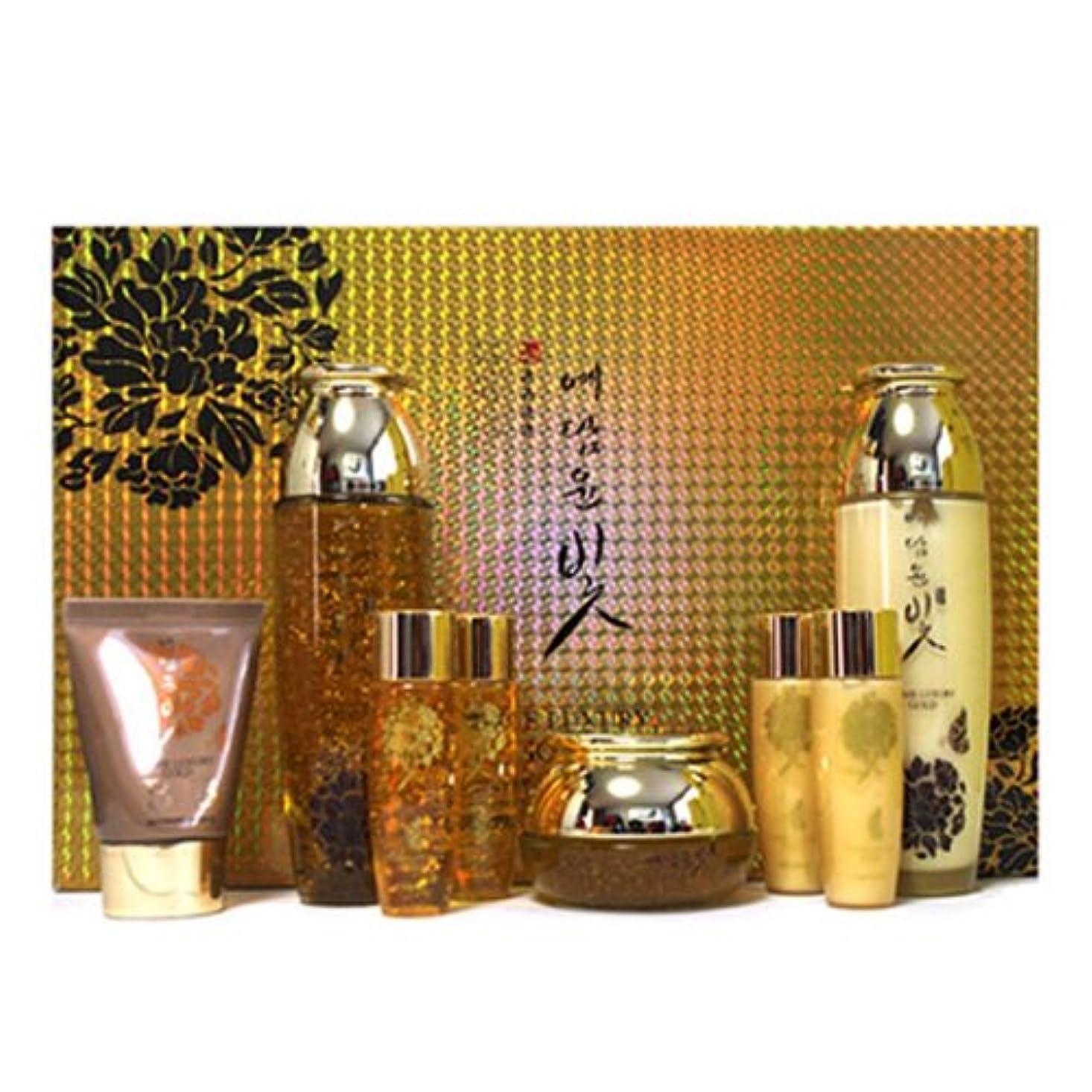 作るチェスをするチェスイェダムユンビト[韓国コスメYedam Yun Bit]Prime Luxury Gold Skin Care Set プライムラグジュアリーゴールドスキンケア4セット 樹液 乳液 クリーム/ BBクリーム [並行輸入品]