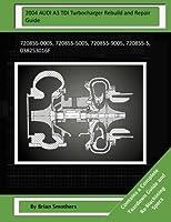 2004 Audi A3 Tdi Turbocharger Rebuild and Repair Guide: 720855-0005, 720855-5005, 720855-9005, 720855-5, 038253016f