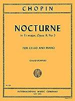 CHOPIN - Nocturno Op. 9 nコ 2 en Mib Mayor para Violoncello y Piano (Popper)
