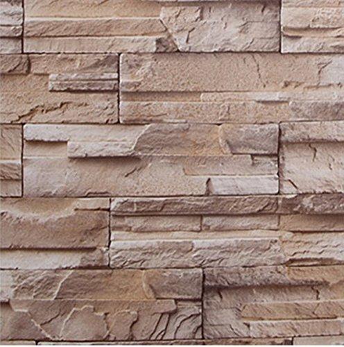 壁紙シール ブロック模様 61cm×10m 浅黄