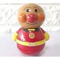 wanrane Cute Kids Roly - Poly Toy Cartoon子Breadスーパーマンタンブラー砂ベルボールサウンド教育玩具(赤)