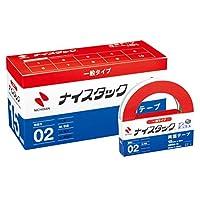 ニチバン 両面テープ ナイスタック 一般タイプ 10巻入 15mm×20m NWBB-15
