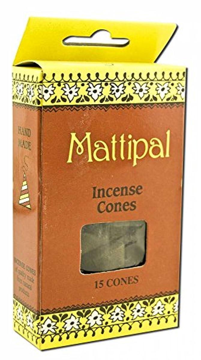 泥沼王族結婚式Sri Aurobindo Ashram Incense Sandalwood Incense Cones Cottage Cones by Sri Aurobindo Ashram Incense [並行輸入品]