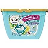 洗濯洗剤 ジェルボール3D 柔軟剤入り ボールド 爽やかプレミアムクリーンの香り 本体 17個