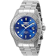 Invicta Men's Pro Diver Quartz Watch with Stainless Steel Strap, Silver, 22 (Model: 29945)