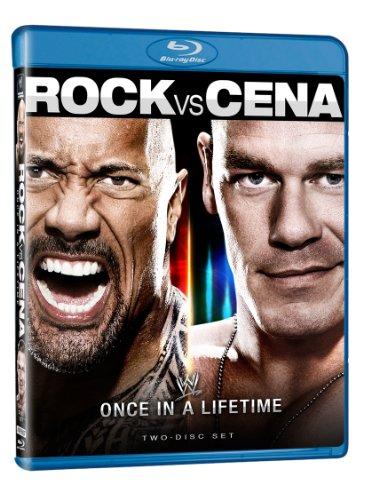 Wwe: The Rock Vs John Cena - Once in a Lifetime [Blu-ray] [Import]