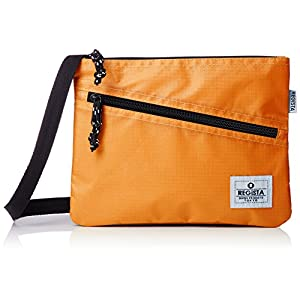 [レジスタ] サコッシュバッグ 軽量 PVC ナイロン メンズ レディース 男女兼用 ショルダーバッグ ミニ ボディバッグ 小さめ 黒 白 6カラー 560 OR オレンジ