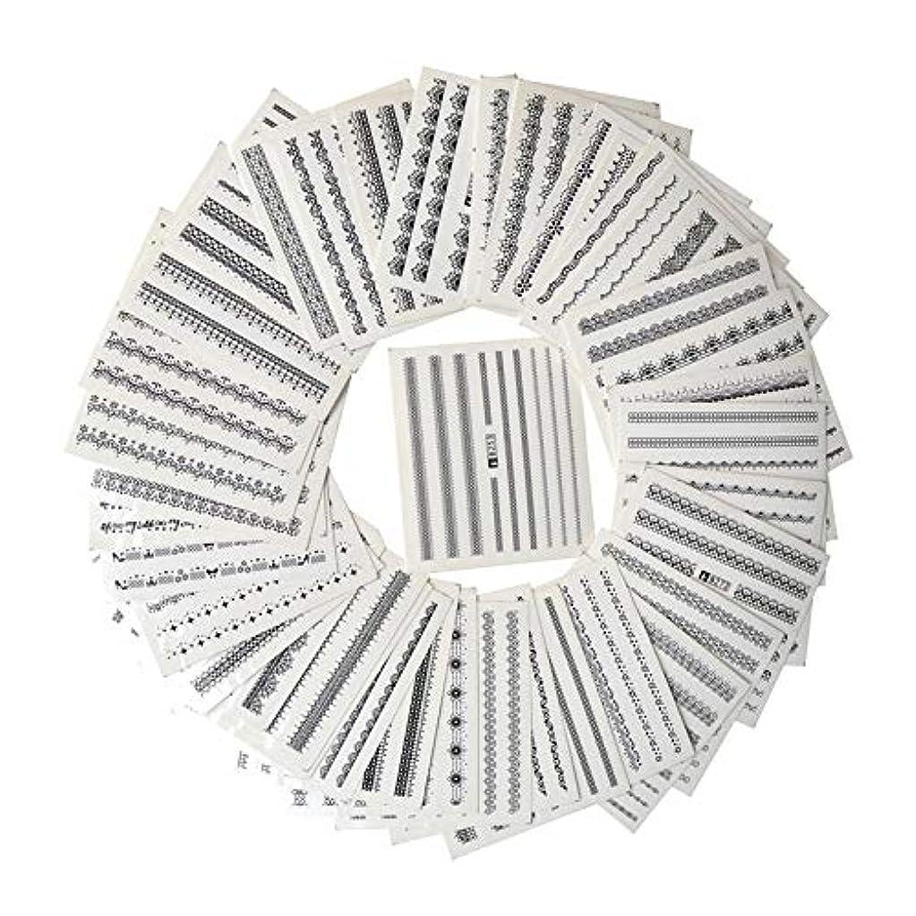 に渡って口述するフローティングSUKTI&XIAO ネイルステッカー マニキュアのための39枚のシートのDiyのステッカーの釘の芸術水移動の印刷のステッカー