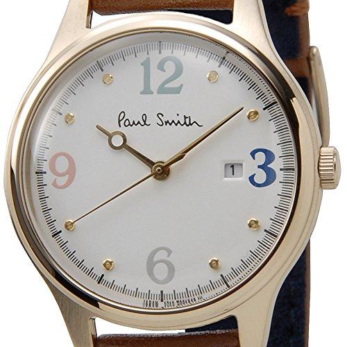 ポールスミス BV3-120-90 レディース 腕時計 The City Mini ザ・シティ ミニ オフホワイト/ブラウン Paul Smith [並行輸入品]