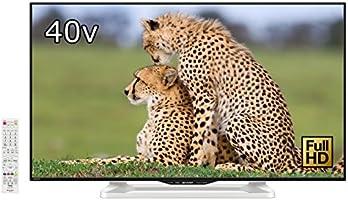 シャープ 40V型 液晶 テレビ AQUOS LC-40W35-W フルハイビジョン 外付HDD対応(裏番組録画) Wi-Fi内蔵 ホワイト