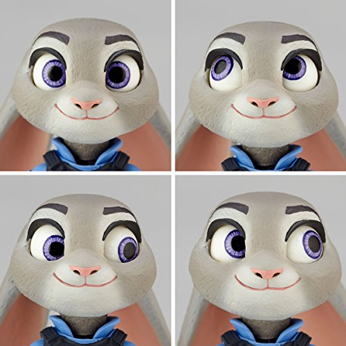 figure complex ムービー・リボ Judy Hopps ジュディ・ホップス 全高約100mm ABS&PVC製 塗装済み可動フィギュア リボルテック
