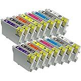 【むさしのメディアオリジナル】 EPSON 互換IC8CL33x2(8色セット x 2パック)インクカートリッジ エプソン互換 *ICチップ(残量表示機能)付き [フラストレーションフリーパッケージ(FFP)]
