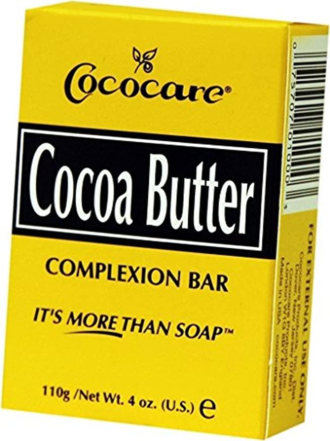 乱雑な系統的きつくCococare, Cocoa Butter Complexion Bar, 4 oz (110 g)