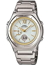 [カシオ]CASIO 腕時計 ウェーブセプター 電波ソーラー LWA-M160D-7A2JF レディース