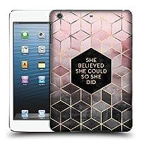 オフィシャルElisabeth Fredriksson Believe 2 タイポグラフィ iPad mini 1 / mini 2 / mini 3 専用ハードバックケース