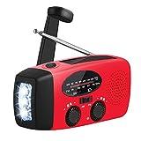 oenbopo AM/FM/WB ラジオ 懐中電灯 LEDライト 小型 防災 モバイルバッテリー ソーラー USB 手動発電 4つ給電式 ポケットラジオ 多機能 防水 SOS 停電 地震などの緊急に対応 HY-88WB