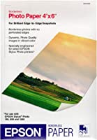 Epson S041458 Borderless Photo Paper (4x6, 20 Sheets) by Epson [並行輸入品]
