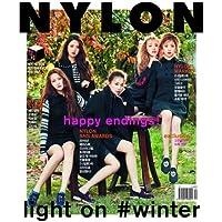 NYLON 12月号(2015)-表紙,画報,インタビュー Red Velvet