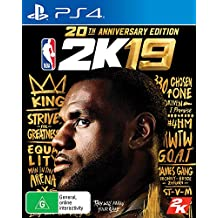 NBA 2K19 - 20th Anniversary Edition PS4 In Stock