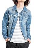 JIGGYS SHOP (ジギーズショップ) ヴィンテージデニムジャケット メンズ Gジャン メンズ デニムジャケット メンズ M ブルー