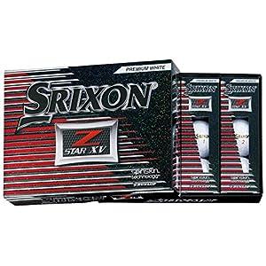 DUNLOP(ダンロップ) ゴルフボール SRIXON Z-STAR XV ゴルフボール 2017年モデル 1ダース(12個入り) プレミアムホワイト