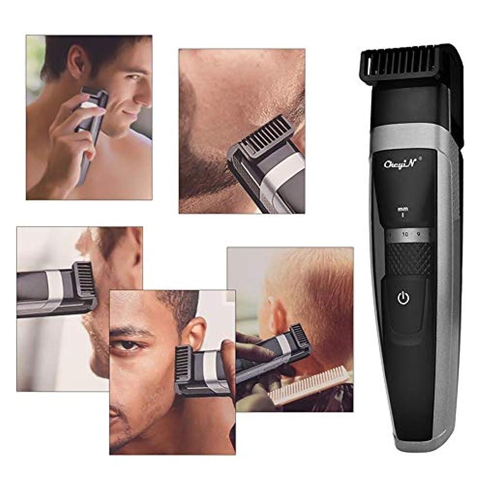 ランチョン順番不正直バリカン、男性IPX6ヘアーグルーミングカットキットのための専門の高品質バリカン充電式コードレスクリップヘアートリマー