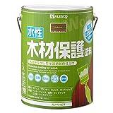 カンペハピオ 水性木材保護塗料 3L ウォルナット