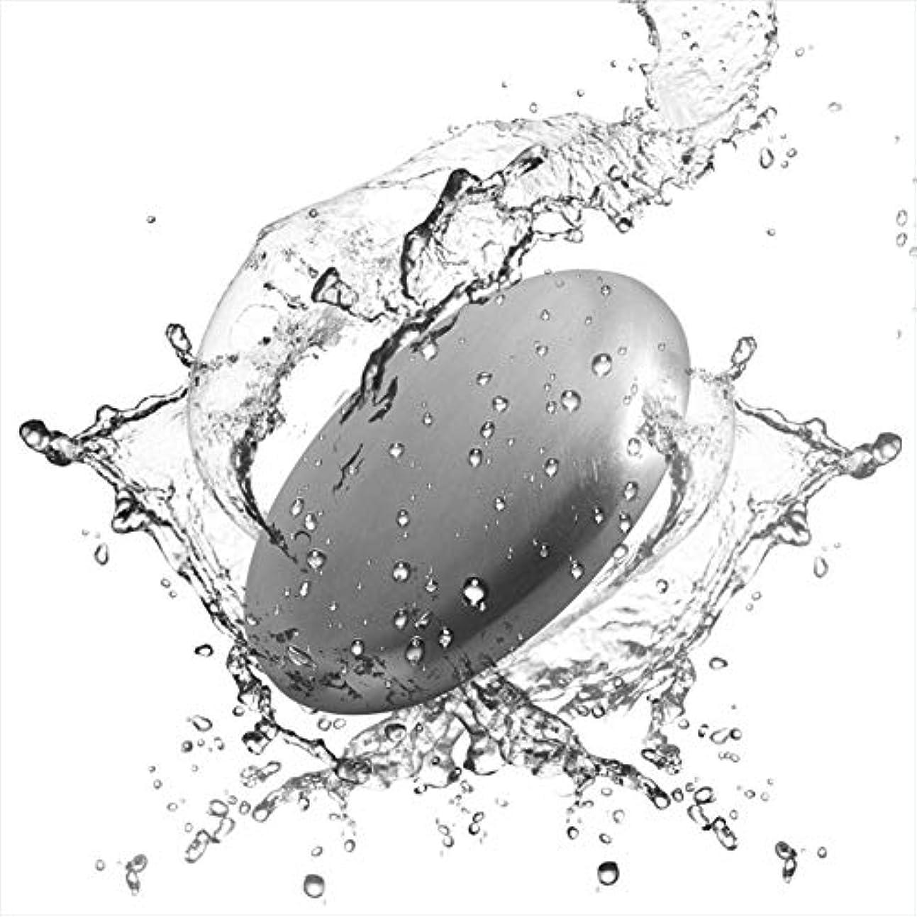 融合午後住所Refoiner ステンレス製品 ソープ 実用的な台所用具 石鹸 魚臭 玉ねぎやニンニク 異臭を取り除く 2個